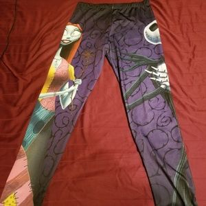 Nightmare Before Christmas Leggings
